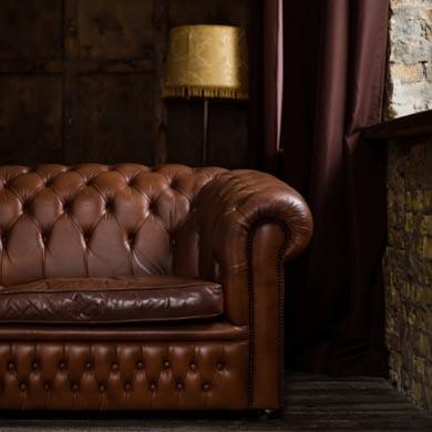 обивка кожаного дивана