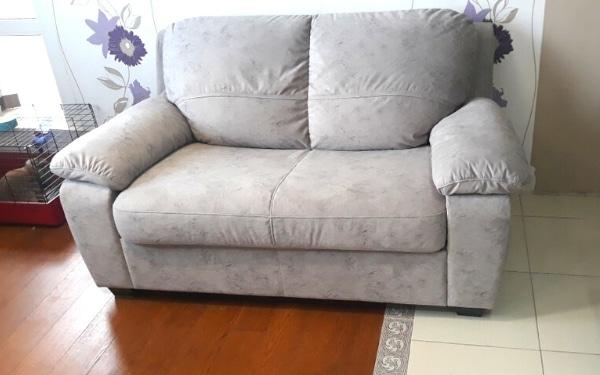 Перетяжка дивана, без изменения дизайна.