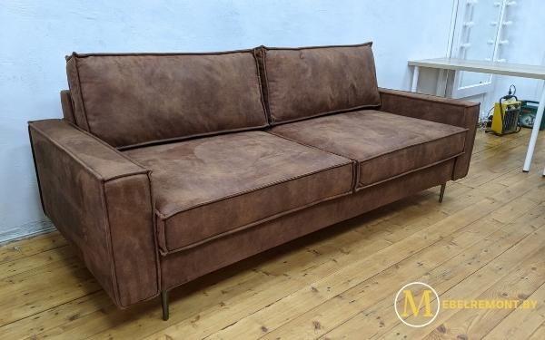 Изготовление дивана по образцу